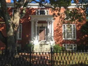 A few private residences are located within the historic district, including this one. Although not open to the public, it has been maintained in a true historical manner.