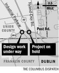 Columbus Dispatch Dublin land map