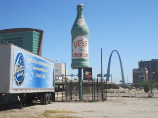 Property taken by eminent domain in the Bottle District of St. Louis. Photo credit: KMOX.com